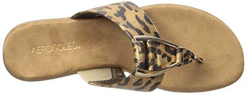 Aerosoles Nice ahorrar Flip Flop de la mujer Leopard