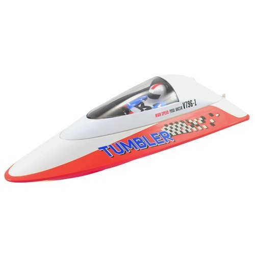 TUMBLER MINI RACING BOAT RTR ROUGE VOLANTEX