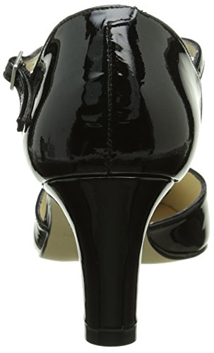 de Zapatos 19874 Charol STUDIO Mujer PALOMA Negro vestir Negro Noir OqHantT