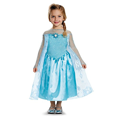 [Disguise Elsa Toddler Classic Costume, Small (2T)] (Halloween Costumes Elsa)