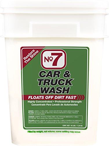 (No7 Car & Truck Wash: Concentrated Powder, 16 lb Bucket)