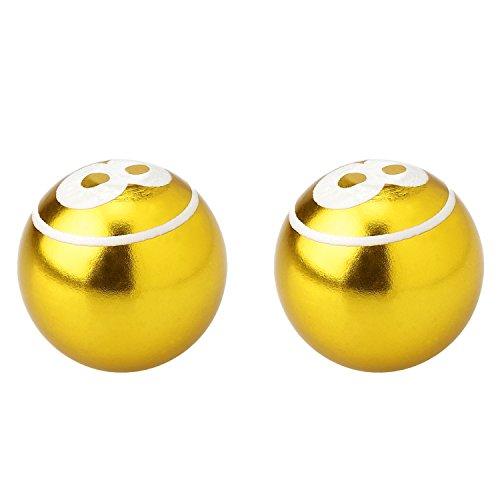 AKI WORLD(アキワールド) VALVE CAP BALL GOLD OT-FR-020