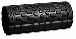 Foam Massage Roller (Black, 24x5.5) EVA High Density Foam * Trigger Point Foam Roller, Muscle Roller, Exercise Roller