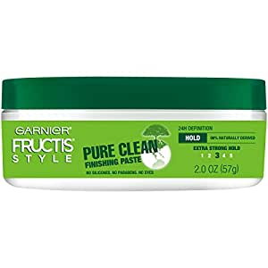 Garnier Fructis Style Pure Clean Finishing Paste, All Hair Types, 2 oz. (Packaging May Vary)