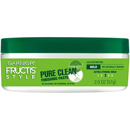 Garnier Fructis Style Pure Clean Finishing Paste for Hair, 2 Ounce Jar, (Packaging May Vary)