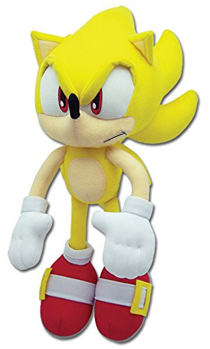 Great Eastern Sonic The Hedgehog Plush-12 Super Sonic (GE-8958) ()