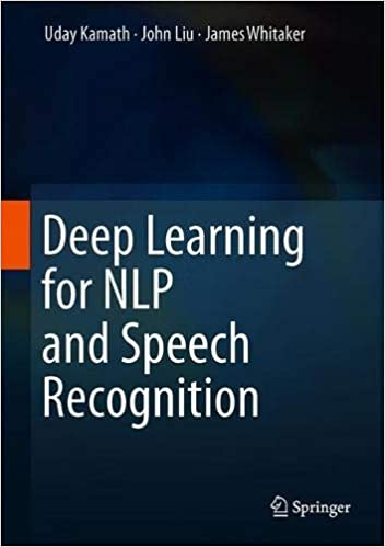 Buy Deep Learning for NLP and Speech Recognition Book Online