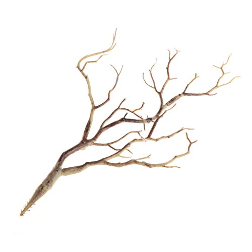 cici store Plastic Artificial Plants Dried Tree Branches - Wedding Decoration (coffee) -