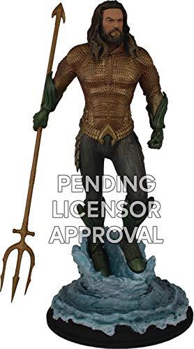 Statue Movie - Icon Heroes JUL188398 Aquaman Movie: Aquaman 1: 9 Scale Polystone Statue