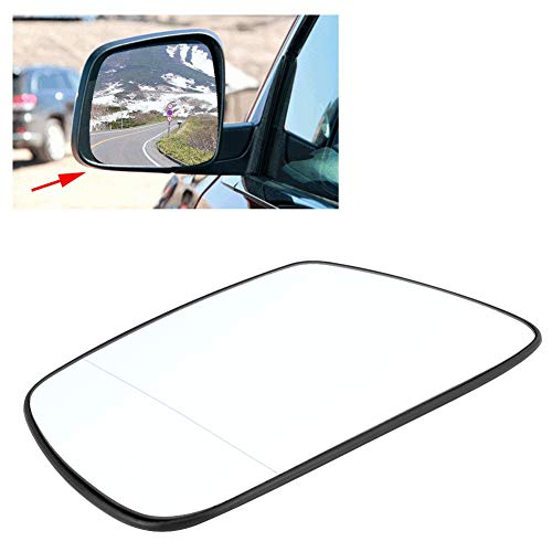 passenger left near side lhs heated mirror glass JEEP GRAND CHEROKEE 2005-2009