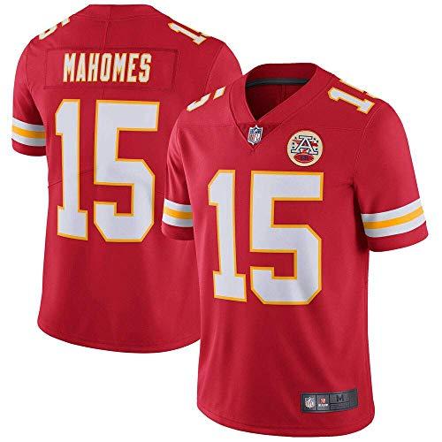 VF LSG Kansas City Chiefs Patrick Mahomes #15 Limited Men's Jersey-Red (Men Nfl Clothing)
