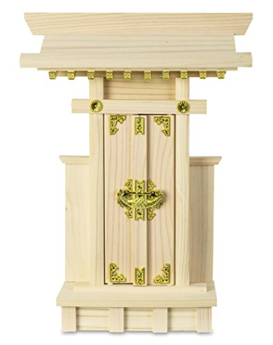 Japanese Home Shrine KAMIDANA Made of HINOKI 121006 (japan import) by fitpost (Shrine Buddhist)