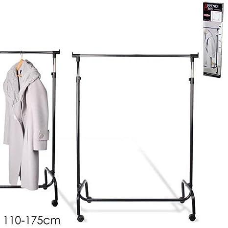 stand perchero colgador ropa extensible 110 - 175 cm con ...