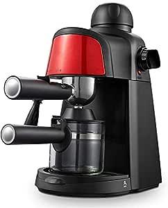 AMAZACER Grano a la Taza Cafetera Semi automática de café Espresso Profesional Independiente Cafetera for la casa - Oficina: Amazon.es: Hogar