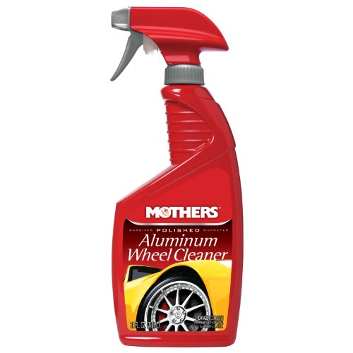Mothers 06024-6 Polished Aluminum Wheel Cleaner - 24 oz, (Pack of 6) by Mothers