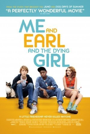 Image result for me earl and the dying girl poster