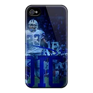 Scratch Resistant Cell-phone Hard Cover For Iphone 4/4s With Provide Private Custom HD Dallas Cowboys Series JasonPelletier