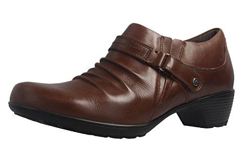 Romika Damen Stiefeletten - Banja 11 - Braun Schuhe in Übergrößen