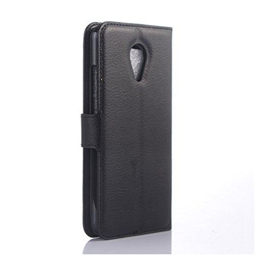 Funda MEIZU MX5,Manyip Caja del teléfono del cuero,Protector de Pantalla de Slim Case Estilo Billetera con Ranuras para Tarjetas, Soporte Plegable, Cierre Magnético B