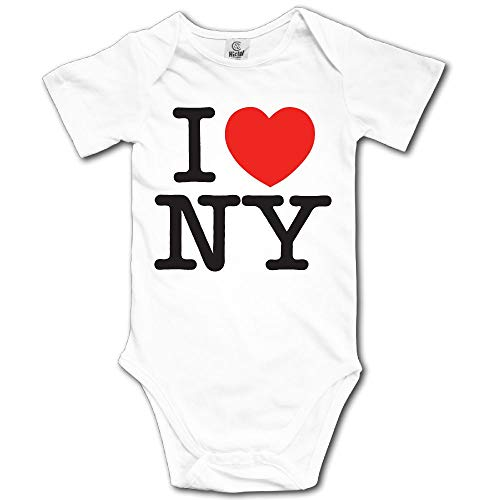 Baby Climbing Clothes Set New York City Bodysuits Romper Short Sleeved Light Onesies -