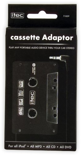 i-tec Electronics T1059 Cassette Adaptor for All iPods and MP3s