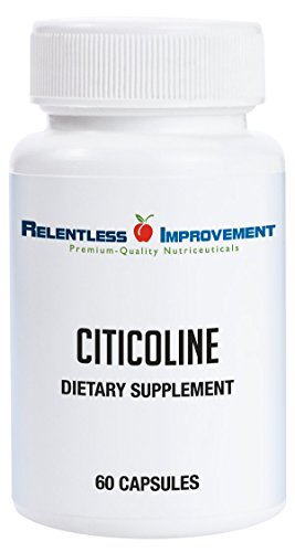 Relentless Improvement Citicoline | NO FILLERS | 300mg 60 Capsules