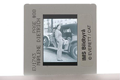 Slides photo of German-American actress and singer Marlene Dietrich. (Marlene Dietrich Actress)