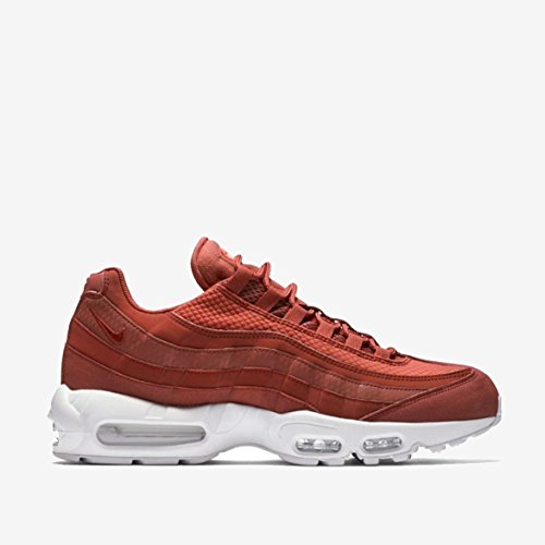 Nike Air Max 95 Premium SE Mens Running Trainers 924478 Sneakers Shoes (UK 9 US 10 EU 44, Dusty Peach White 200) by Nike (Image #1)