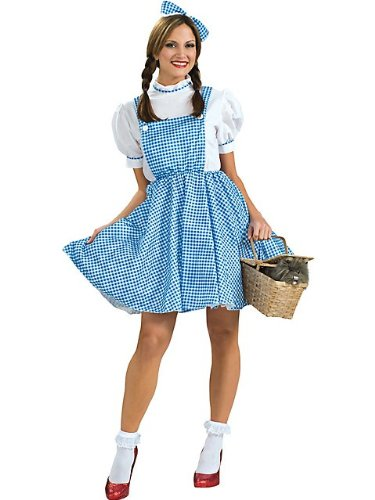 [Rubies Costume Co R15473-STD Wizard Of Oz Dorothy Adult Size Standard] (Dorothy Of Oz Costumes For Adults)