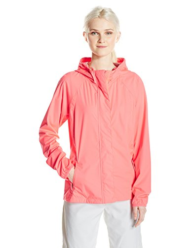Skechers Women's Go Shield Golf Jacket, Coral, XS by Skechers