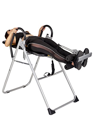 Body Xtreme Fitness ~ Heavy Duty Therapeutic Inversion Table, Comfort Foam Backrest, Relief of Back Pain, Adjustable Folding, Increase Blood Circulation + BONUS COOLING TOWEL by Body Xtreme Fitness USA (Image #2)