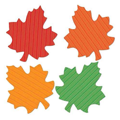 TCDesignerProducts Economy Leaf Cutouts, Fall and Thanksgiving Decorations