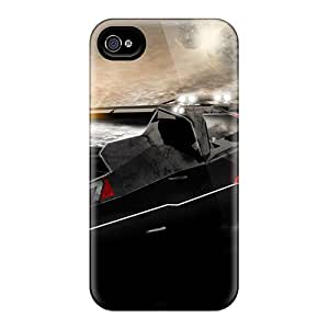 High Grade Marthaeges Flexible Tpu Case For Iphone 5/5s - Mass Effect N7 Car