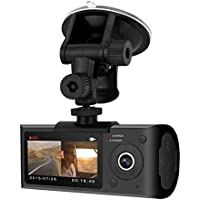 Blaupunkt BPDV142 Dual Camera DashCam with GPS, 2.7