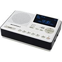 1 - Desktop AM/FM Weather Radio, Weather radio with NOAA channels with alerts, SAME technology, MWR839