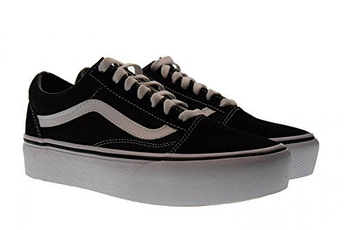 Basse Scarpe Donna Vans Platform Taglia bianco 5 Old Vn0a3b3uy281 Sneakers Nero Skool 38 taCWF1wqgS