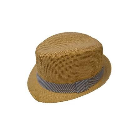 d83c4ef5d2576 Amazon.com  Boys Toddler Straw Fedora Hat - Havana  Everything Else