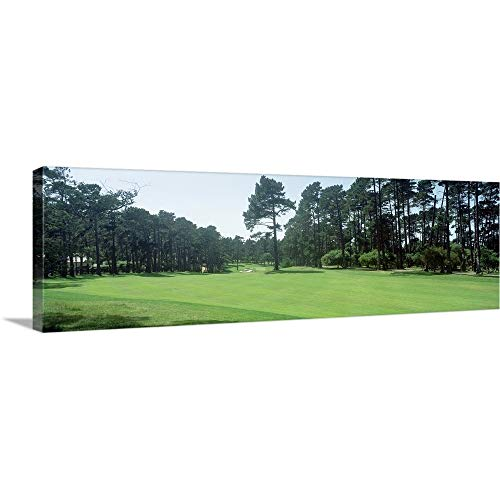 Canvas on Demand Premium Thick-Wrap Canvas Wall Art Print entitled Spyglass Golf Course Pebble Beach CA USA 60