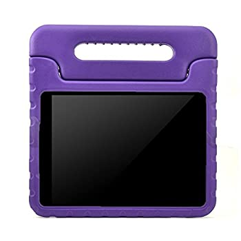 ANMANI Samsung Galaxy Tab E Lite 7.0 inch Kids Case - ShockProof Case Light Weight Kids Case Super Protection Cover Handle Stand Case For Samsung Galaxy Tab E Lite 7-Inch Tablet - (Purple)
