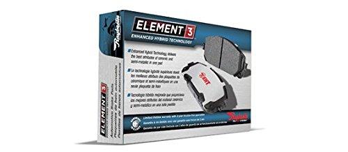 Raybestos EHT1723H Enhanced Technology Friction Pads Brake Pad Set