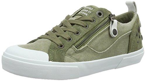 Gule Cab Dame Stridigheder W Sneakers Grün (grøn) B2MNhn