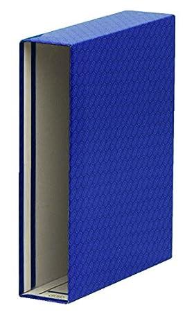 Elba Rado - Cajetín para archivadores y carpetas, A4, L85mm, Verde, A4, color azul: Amazon.es: Oficina y papelería