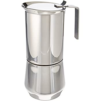 ilsa stainless steel stovetop espresso maker 10 cup