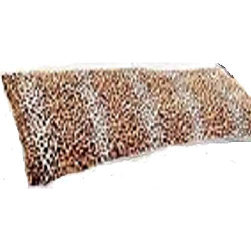 Elegant Faux Fur Body Pillow Cover - Removable with Zip Cover - Cheetah /...