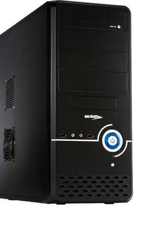 Sentey CS1-1398 PLUS Midi-Tower Negro carcasa de ordenador ...