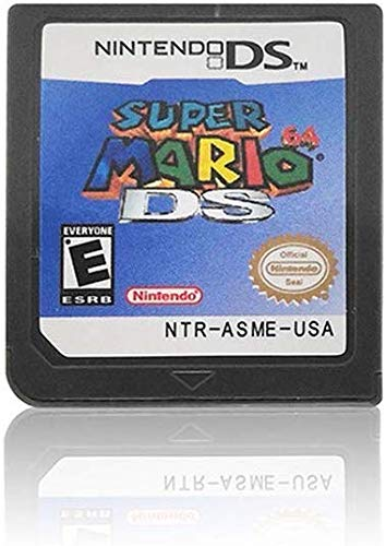 Super Mario 64 DS+New Super Mario Bros us Version for ds nds ndsi game card (Mario Dsi Game)