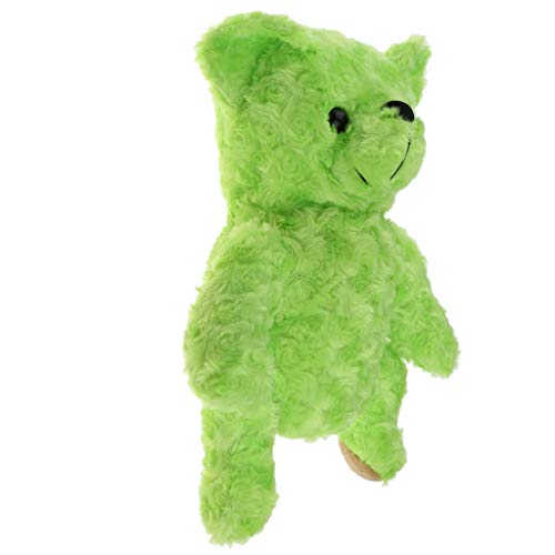 (DYNWAVE Cute Bear Golf Club Headcover Protector Outdoors Gears Fits up to 460 cc Golf Accessory - Green)