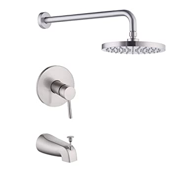 Kes Pressure Balance Shower Valve Combo Complete Kit Bath And Shower