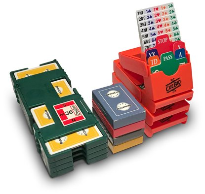 Standard bridge kit - 1 set of bidding boxes and 4 duplicate boards by BridgeClub