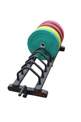 CFF Horizontal Bumper Plate Rack w/Wheels
